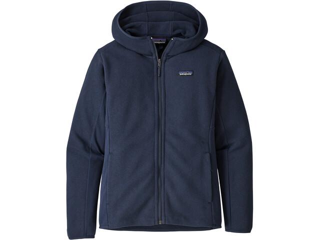 Patagonia Lightweight Better Sweater Hoody Women new navy
